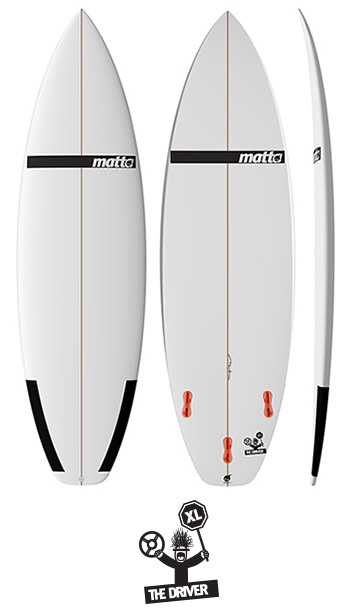 THE DRIVER XL MATTA SURFBOARDS