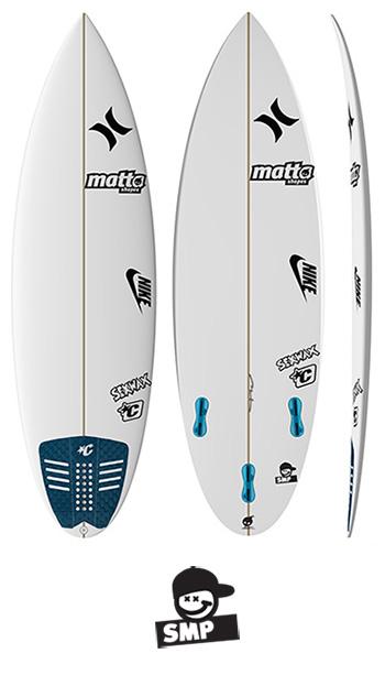SMP MATTA SURFBOARDS - SAM PITER