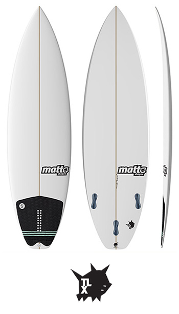 TLX MATTA SURFBOARDS - TRAVIS LOGIE