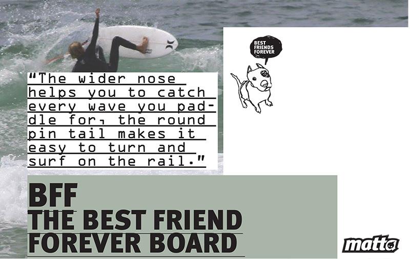 BFF MATTA SURFBOARDS
