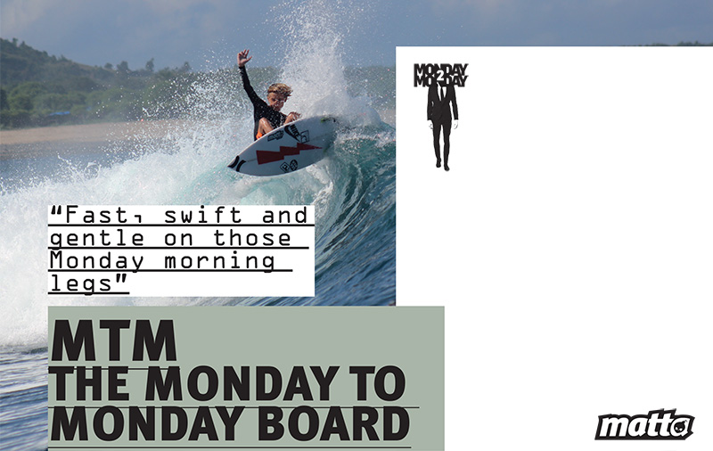 MTM MATTA SURFBOARDS - SAM PITER