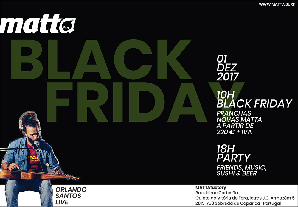 MATTA BLACK FRIDAY – ONLY FOR PORTUGAL