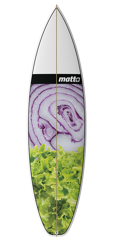 MATTA BOARD GRAPHIC #01 SALAD