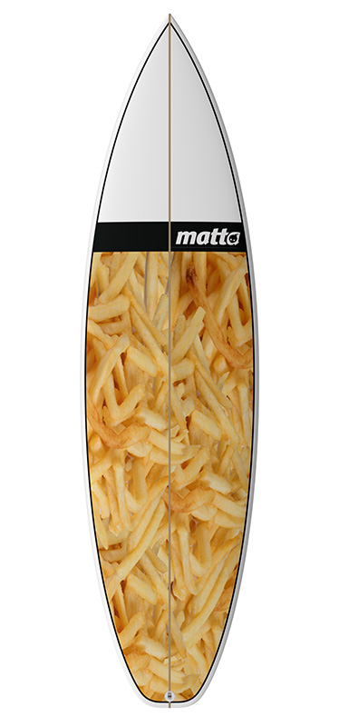 MATTA BOARD GRAPHIC #02 FRENCH FRIES