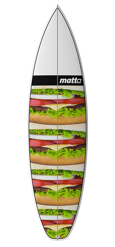 MATTA BOARD GRAPHIC #03 HAMBURGUER