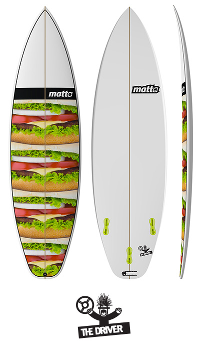 THE DRIVER MATTA SURFBOARDS