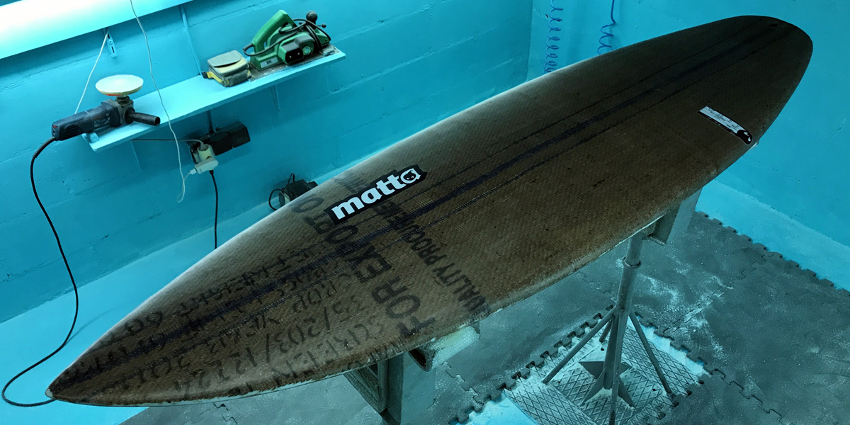 MATTA upcycle Surfboard