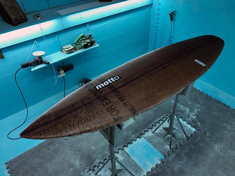 MATTA upcycle Surfboard