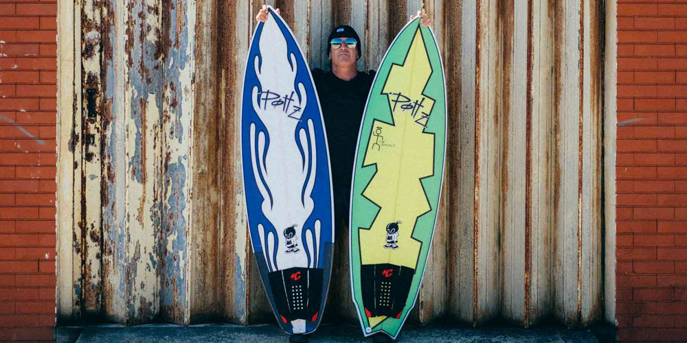 POTTZ SURFBOARDS BY MATTA