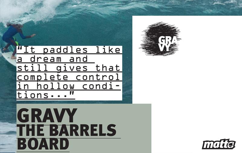 GRAVY MATTA SURFBOARDS