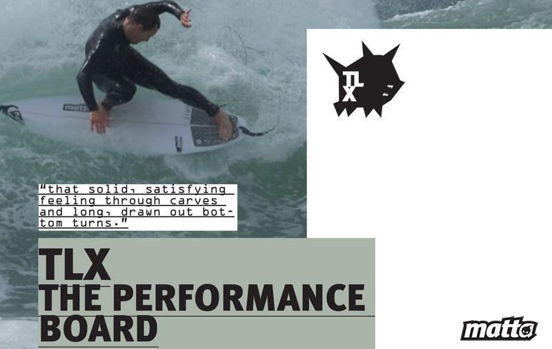 TLX MATTA SURFBOARDS - TRAVIS LOGIE